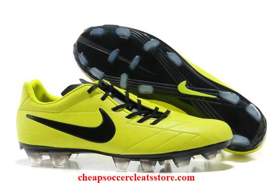 Nike Total 90 Laser IV Yellow Soccer Cleats