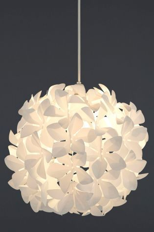 Buy easy to fit flower ball shade from the next uk online shop buy easy to fit flower ball shade from the next uk online shop aloadofball Gallery