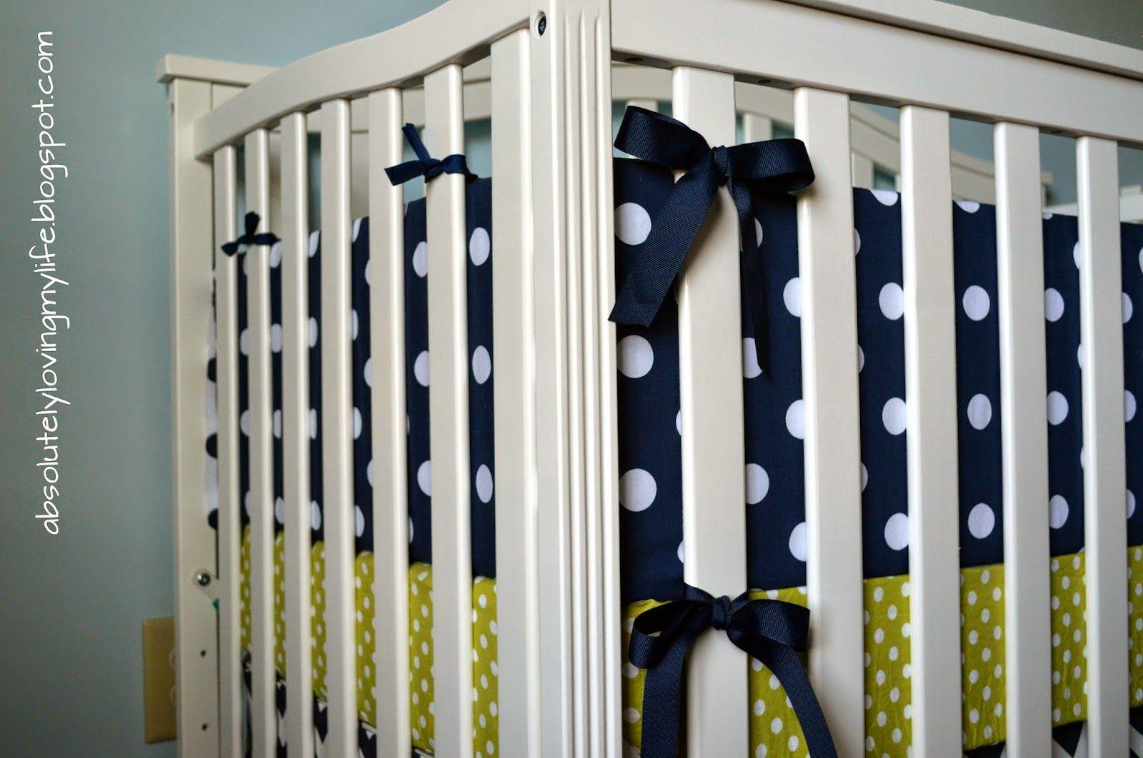 DIY No Sew Crib Bumper (With images) | Crib bumper, Baby ...