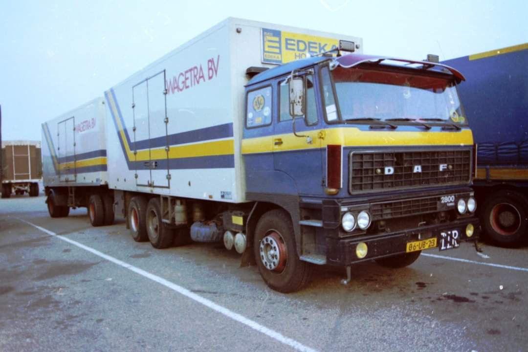 Daf Wagetra De Lier Isotherm Combi In 2020 Vrachtwagens