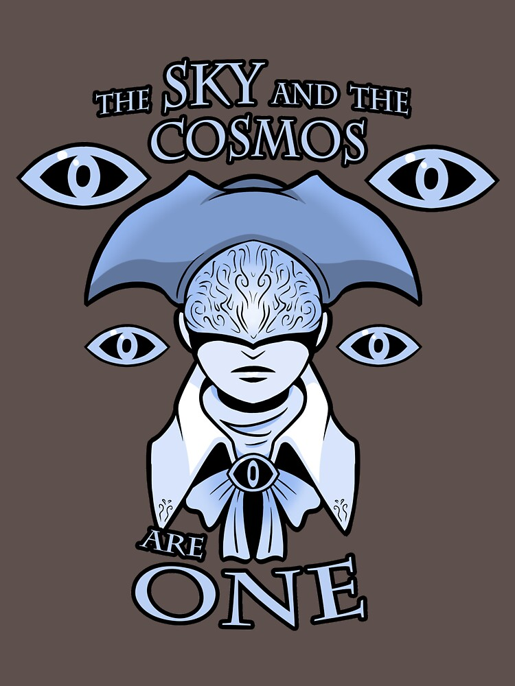 The Sky And The Cosmos Are One T Shirt By Tindalosmalakia Redbubble Cosmos Sky T Shirt