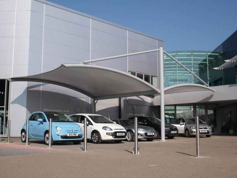 We Are Manufacturer And Supplier Of Car Parking Sheds Which Can Be Installed In Residential