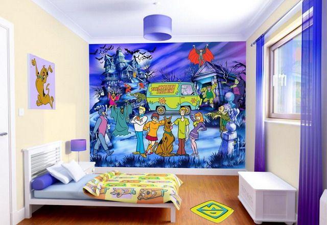 Best Oh Yeah A Scooby Doo Mural Monster Room 640 x 480