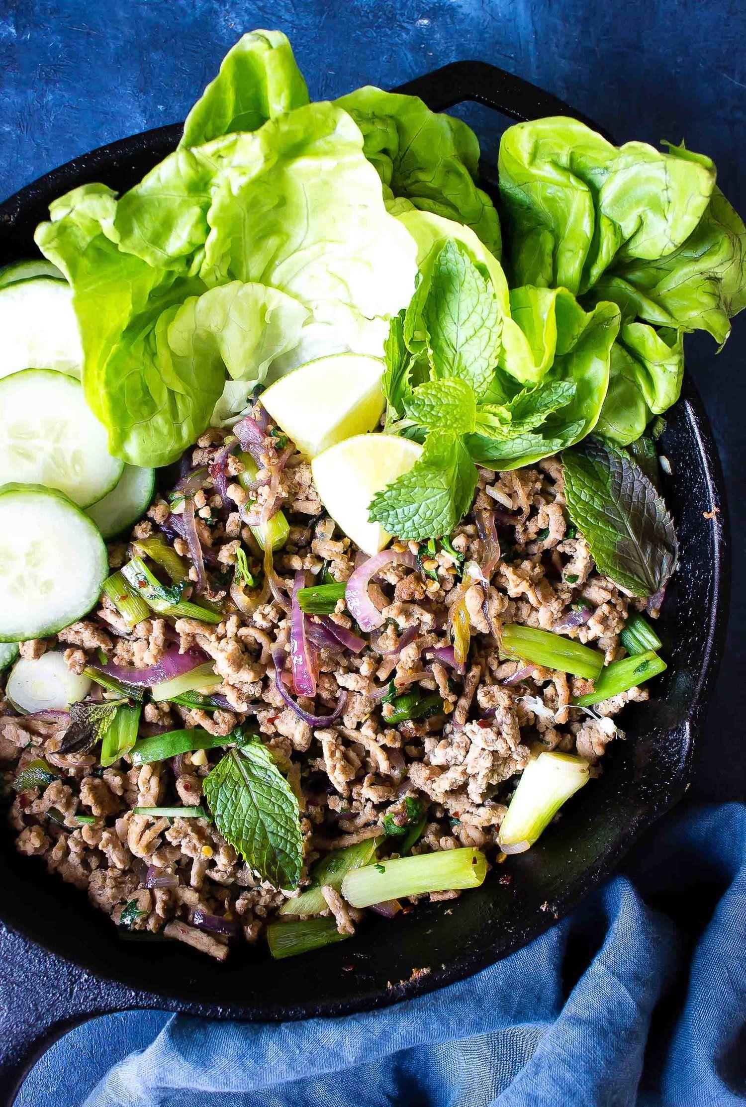 larb thai recipe keto diet