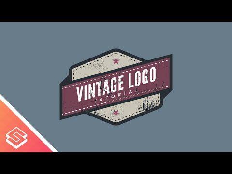 Inkscape For Beginners Vintage Logo Tutorial Logo Tutorial Logo Design Tutorial Vintage Logo