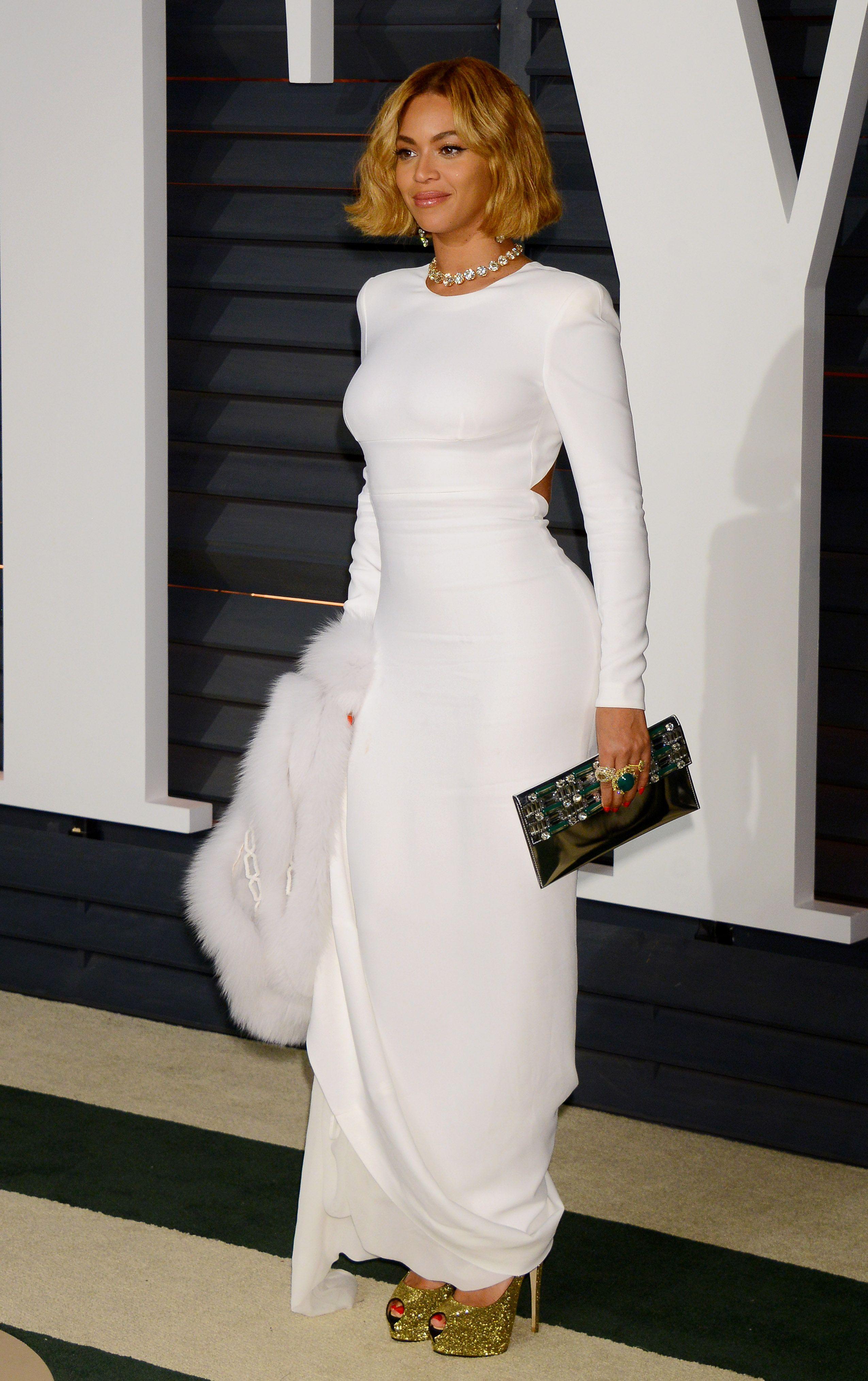 Beyonce Knowles Photo 2993662 2550x4058 Besteyecandy Com Black Sheer Dress Stella Mccartney Dresses Vanity Fair Oscar Party [ 4058 x 2550 Pixel ]