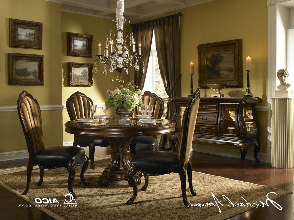 buy palace gate round dining room set