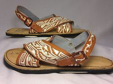 c4d847da2a354 new MENS LEATHER MEXICAN two strap PITEADO GRABADO SANDALS HUARACHE  ALL  SIZES