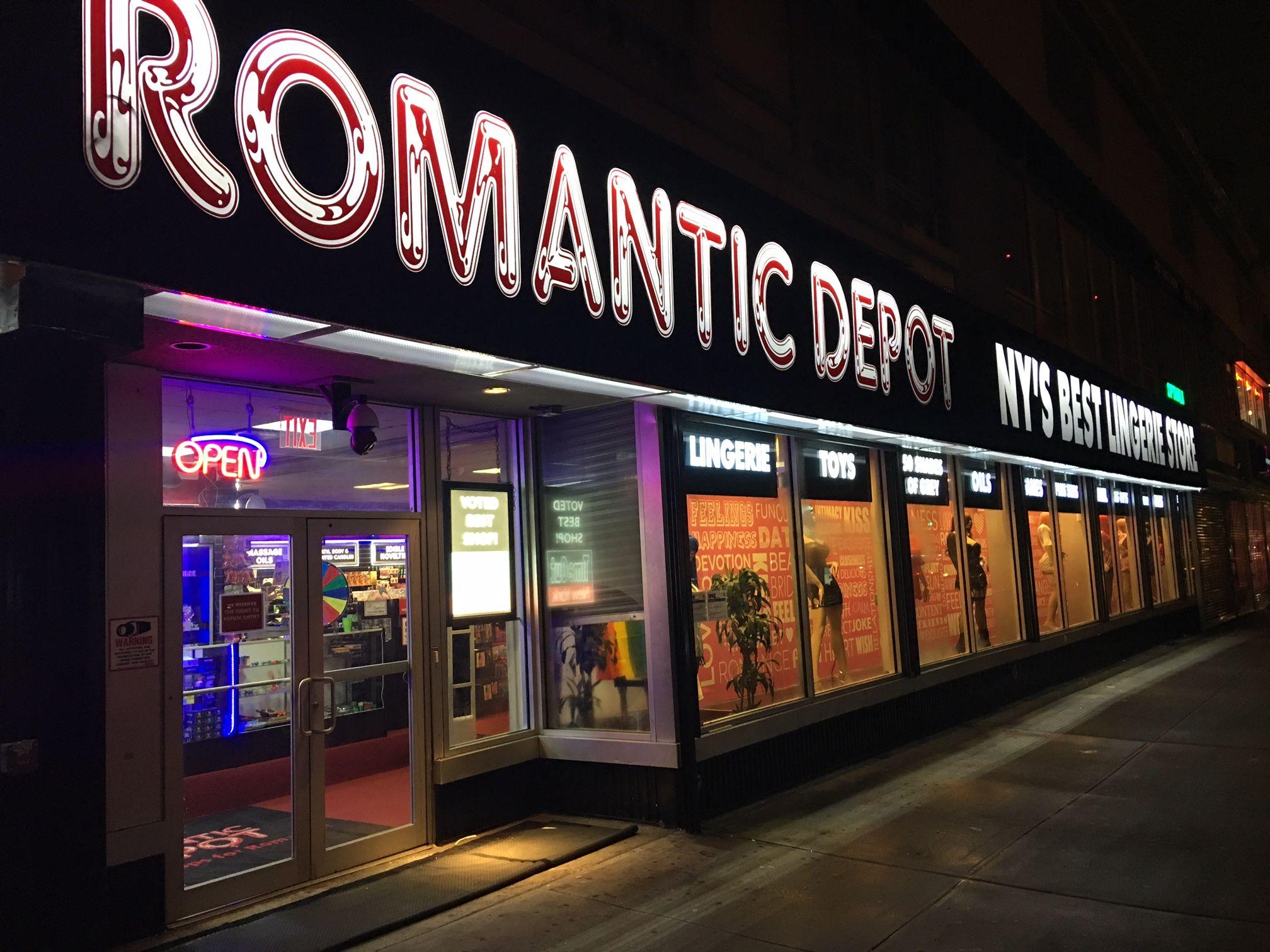 Sex shop in manhattan