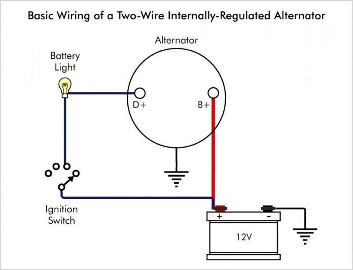 22 stunning electrical switch wiring diagram - bacamajalah   alternator,  voltage regulator, electrical switch wiring  pinterest