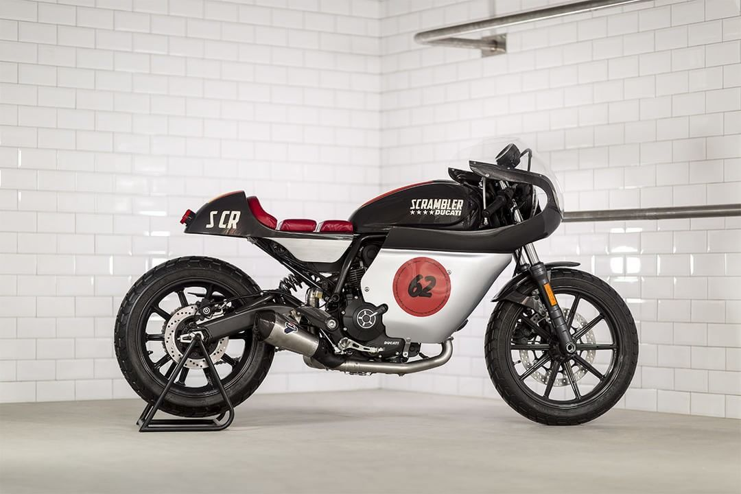 Ducati Scrambler Cafe Racer by Mr. Martini #motorcycles #caferacer #motos | caferacerpasion.com