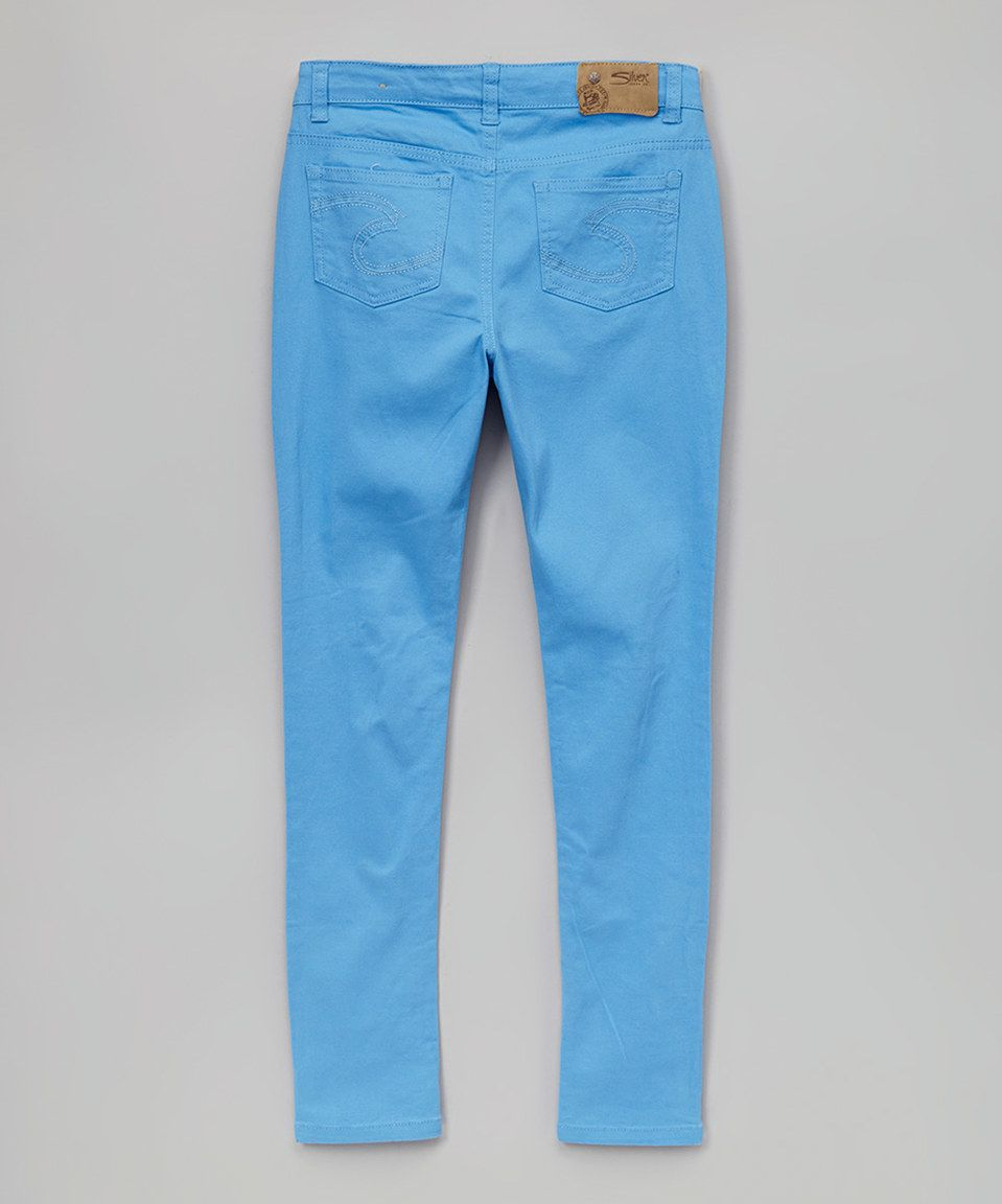 6d678e09 Another great find on #zulily! Mid Blue Amy Jeggings - Kids & Tween ...