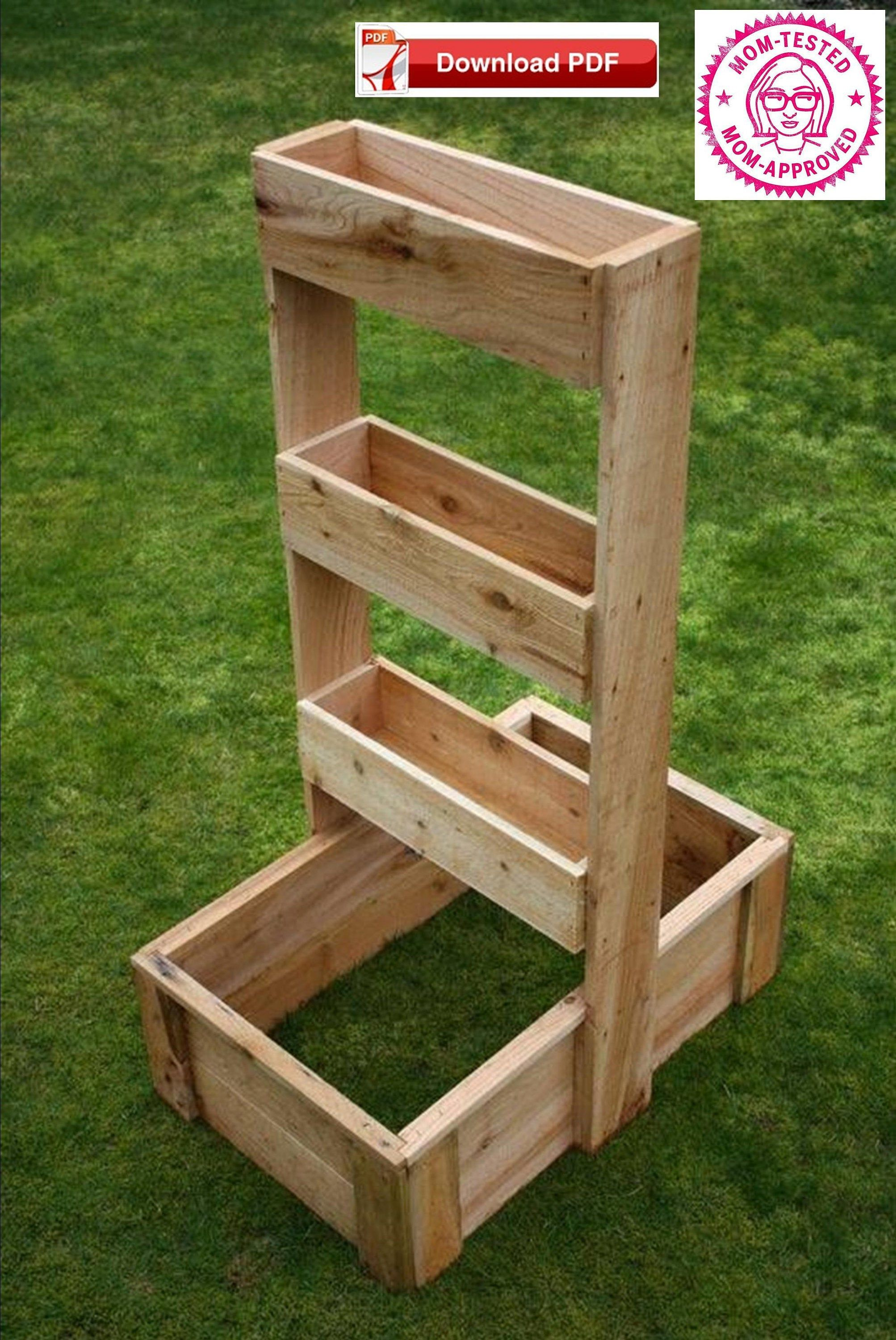Herb Planter Plan Wood Herb Planter Plan Garden Herb Planter Plan