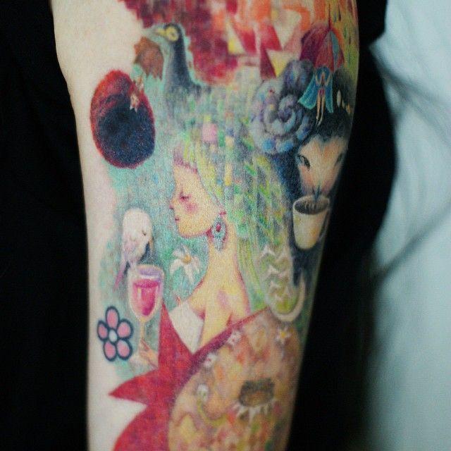 : Detail, front  #tattoo #tattooistdoy #tattooworkers #tattooinkspiration #tattooistartmagazine #design #drawing #illust #타투 #타투이스트도이