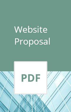 website proposals template