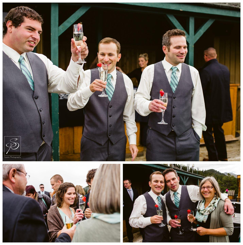Outdoor Wedding Ceremony Calgary: Rustic Lake Louise Wedding