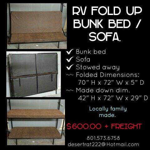 Cargo Trailer Rv Fold Up Bunk Beds Cargo Trailer Rv Fold Up Bunk