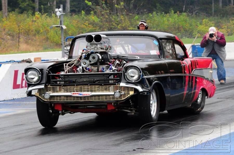 57 Chevy Drag Racing Cars Classic Cars Muscle 57 Chevy Bel Air