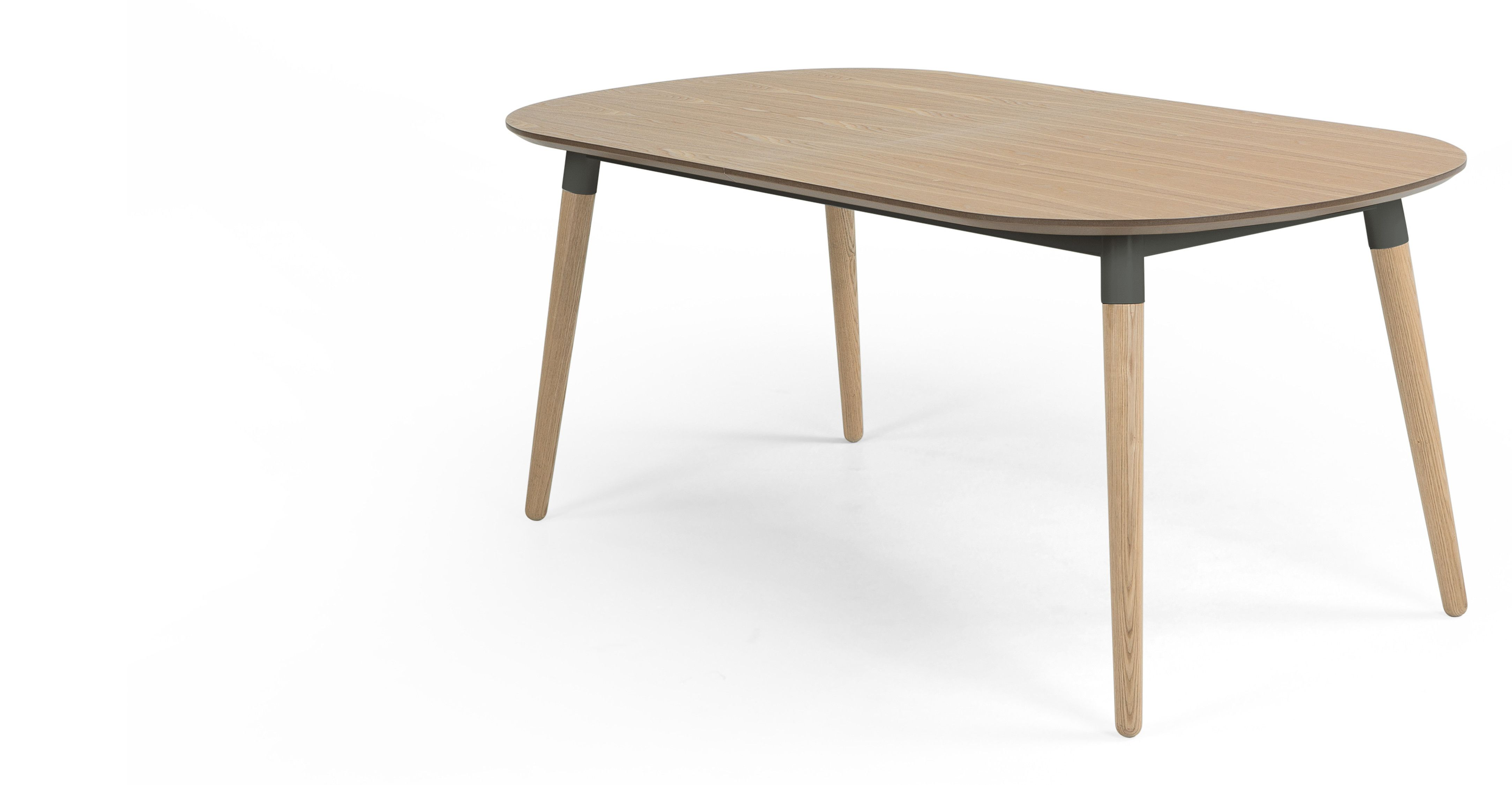 Edelweiss Extending Dining Table Ash and Grey