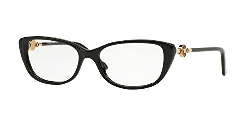 Versace VE3206 Eyeglass Frames GB154 Black >>> Be sure to check out ...