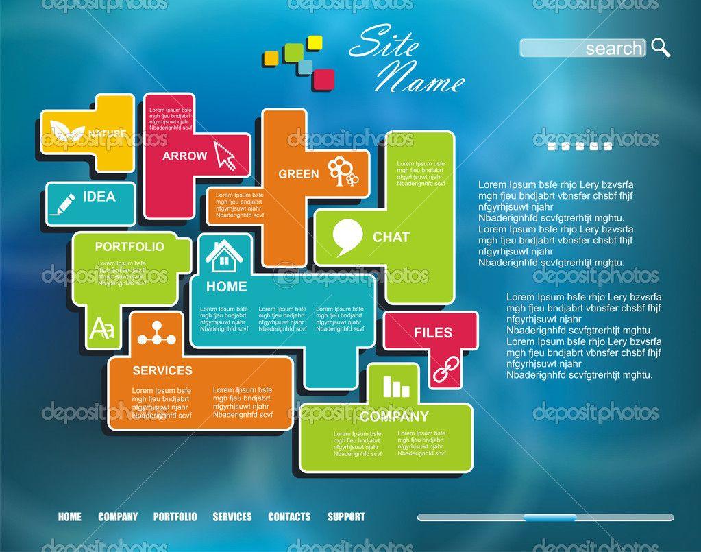 creative website design templates - Google Search | Web Design ...