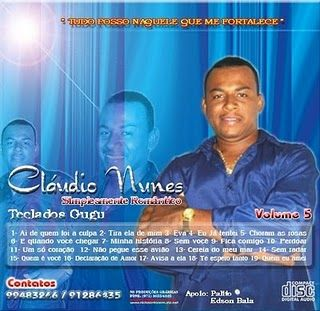 """Capa/CD/Claudio Nunes 'Criação Nickpontocom"""""""