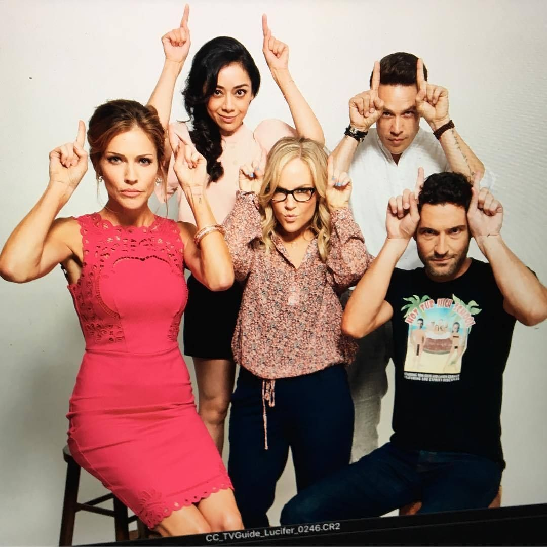 Lucifer Netflix Cast: Aimeegarcia4realz: Welcome To Devil Time … @comic_con