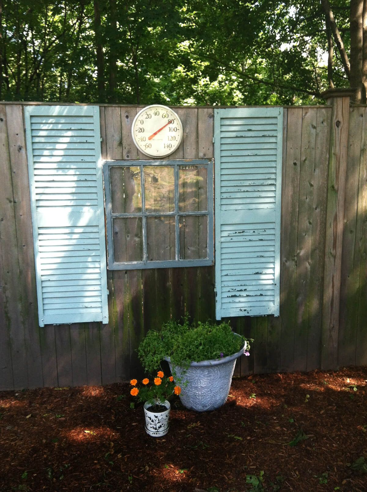 38 Creative Old Shutter Decor Ideas That Will Bring Unexpected Charm To Your Outdoor Space Shutter Decor Old Shutters Old Shutters Decor