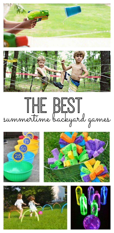 The Best Summertime Backyard Games