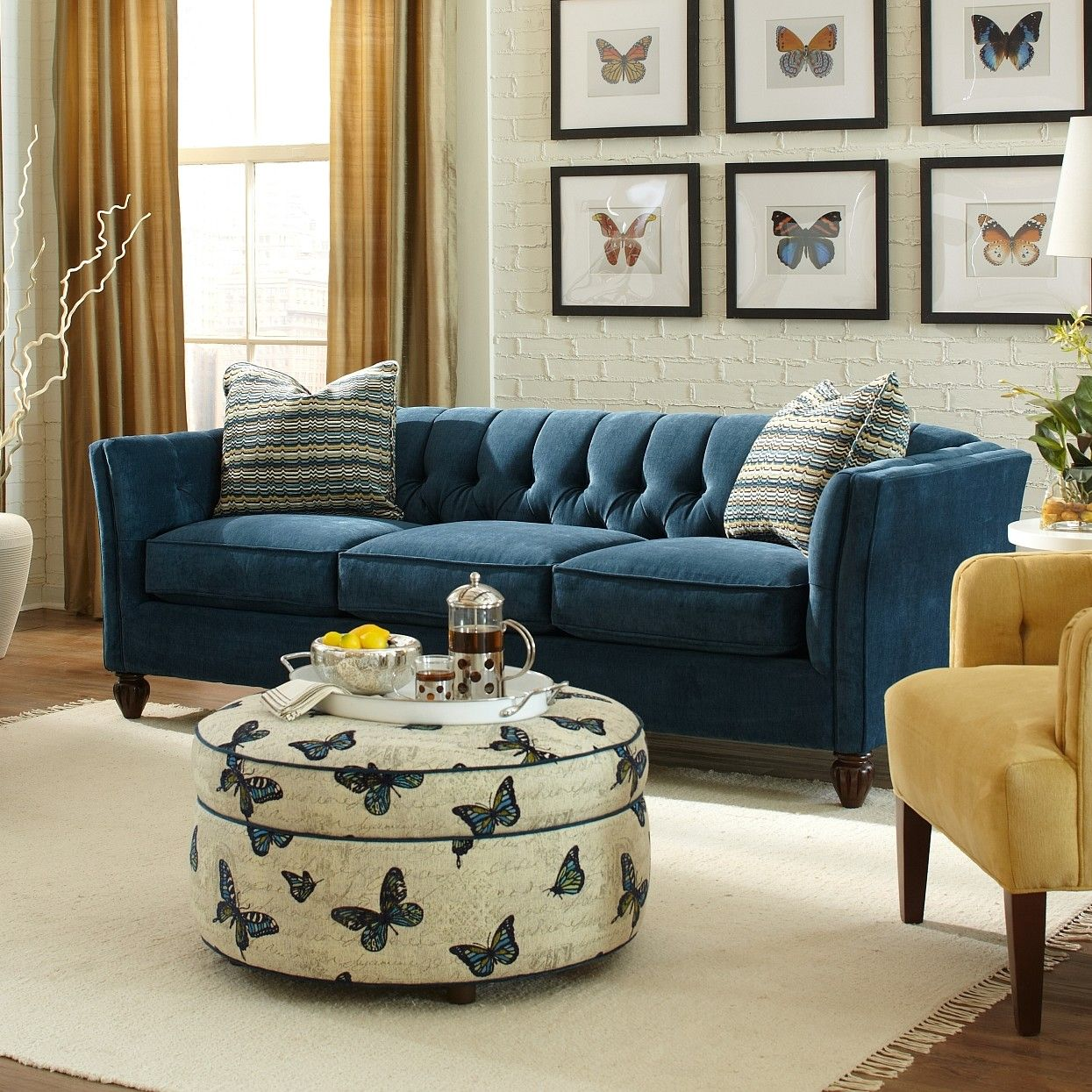 Craftmaster Burnish Sofa Reviews Wayfair Blue Sofa Living