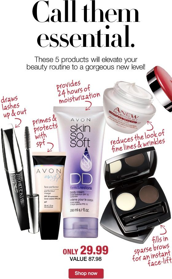 Avon Essentials!!!