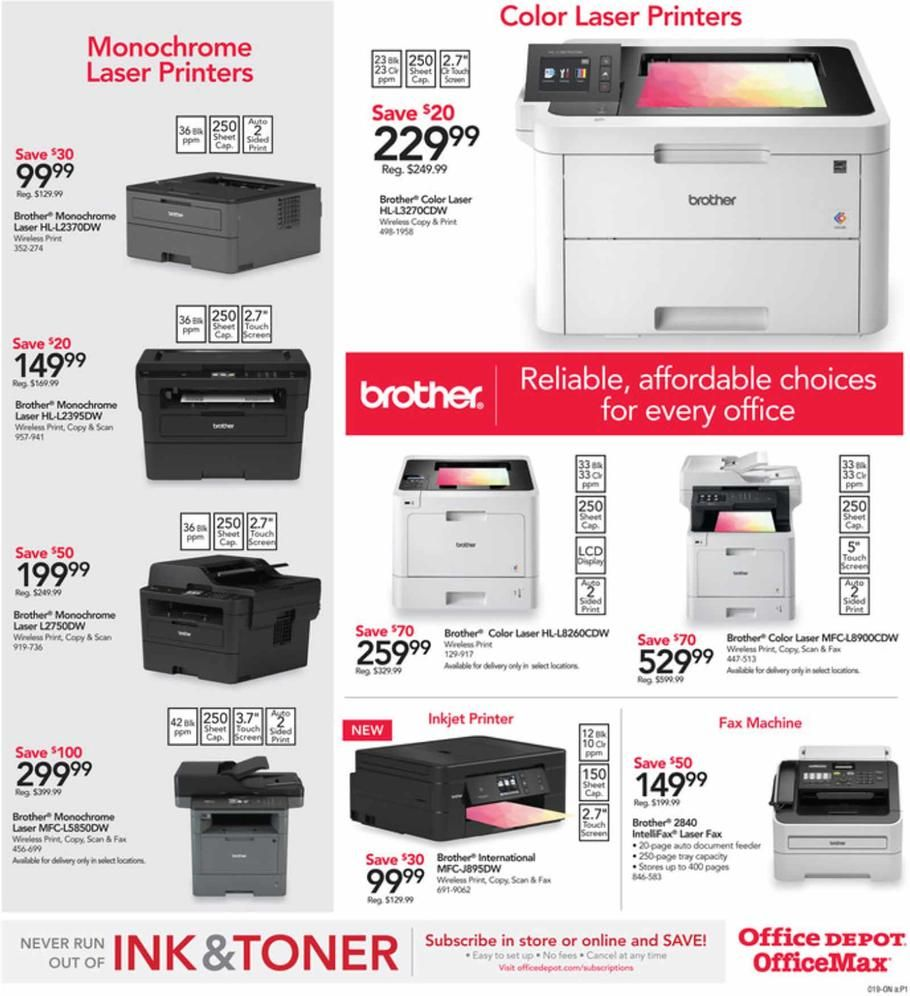 Office Depot And Officemax Countdown To Black Friday 2018 Ads Scan Deals And Sales See The Office Depot And Officemax Countdo Office Depot Black Friday Office