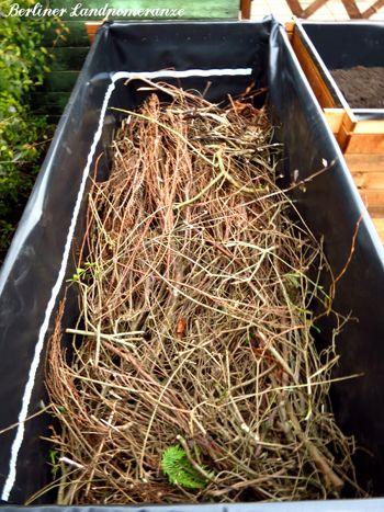 Anleitung Hochbeet Befullen Vrt Garden Sleepers In Garden