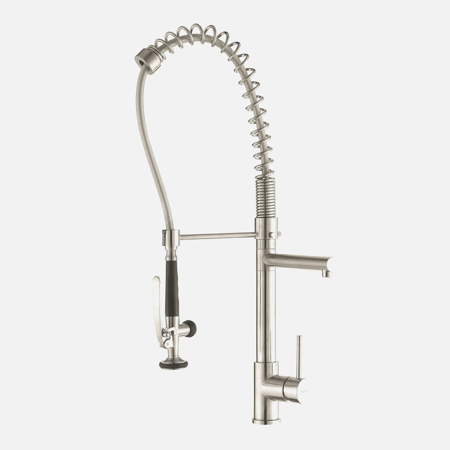 stainless steel kitchen faucet with pull down spray portable shampoo bowl for sink moen peerless