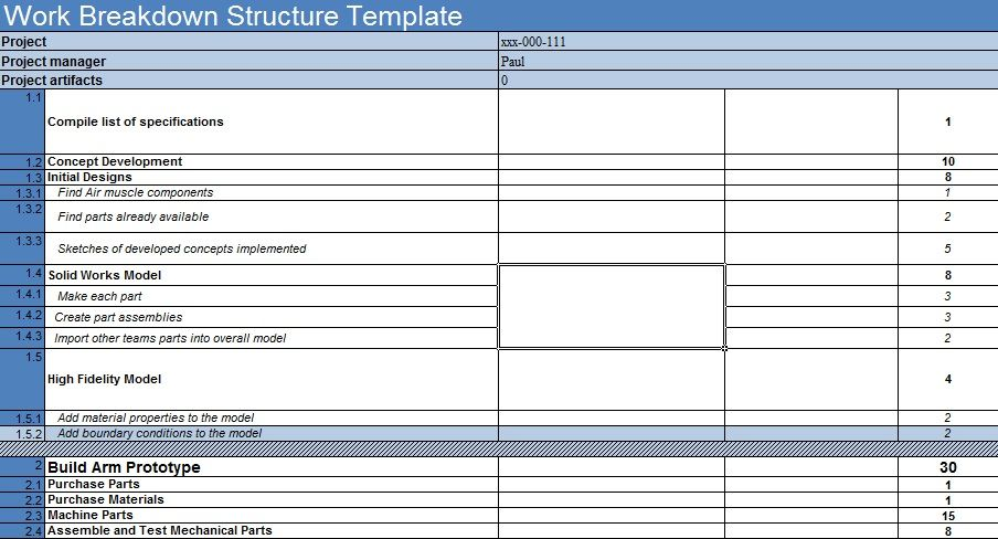 Payslip Template Free Download Looking For A Free Work Breakdown Structure Template To Better .