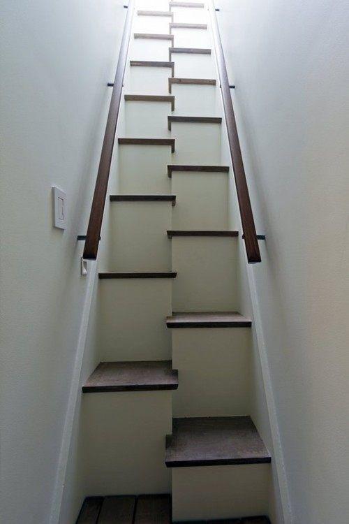 unas escaleras poco prcticas