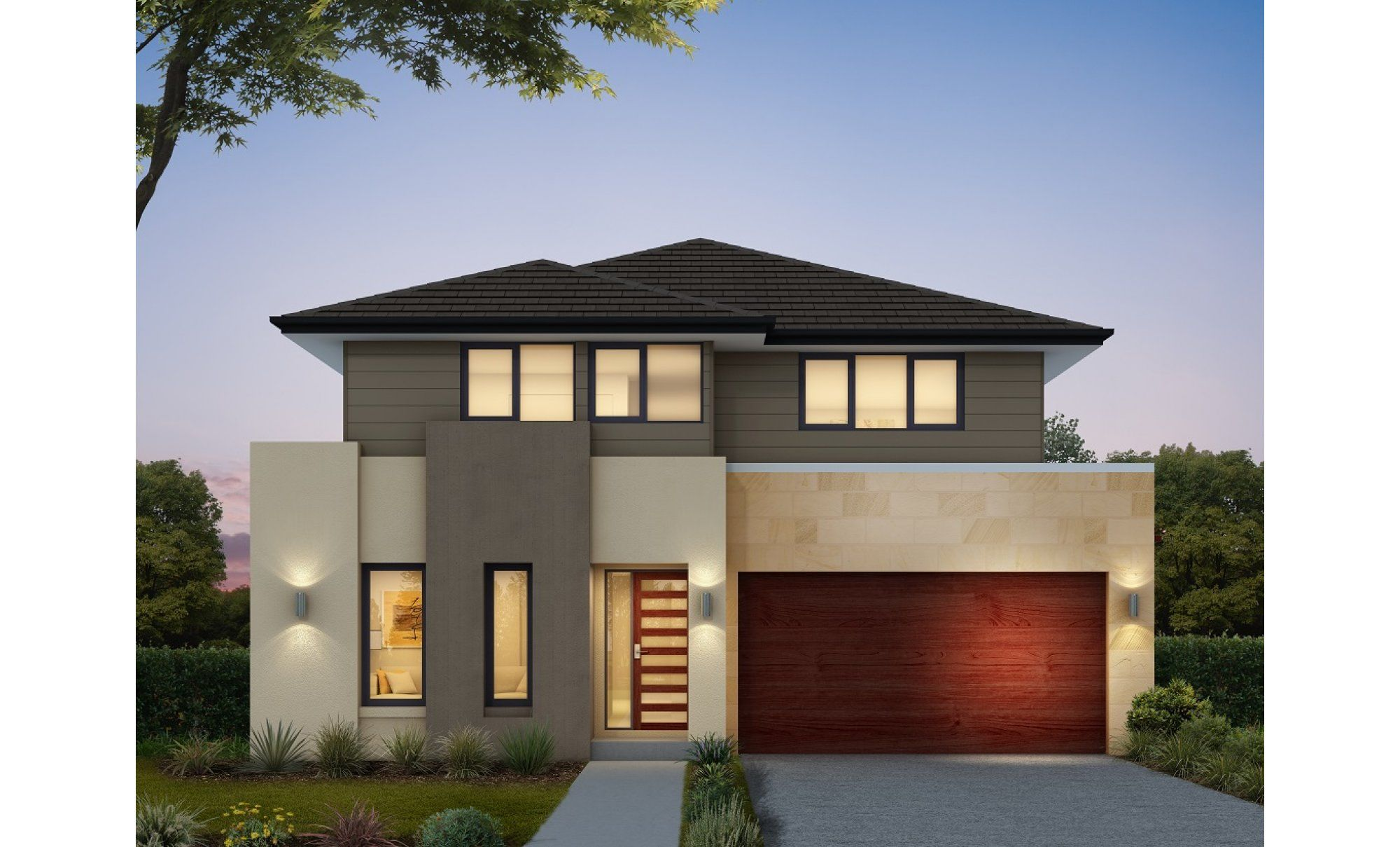 Ivy 32 By Clarendon Homes Is A Balance Between Modern