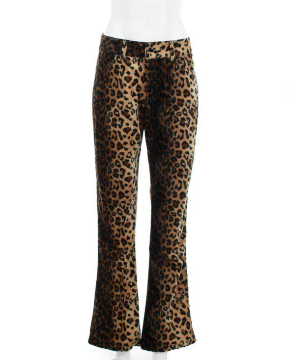 a093098125e6 Vintage Lip Service Faux Fur Pants 1990's Clothing Women's Size Medium 31