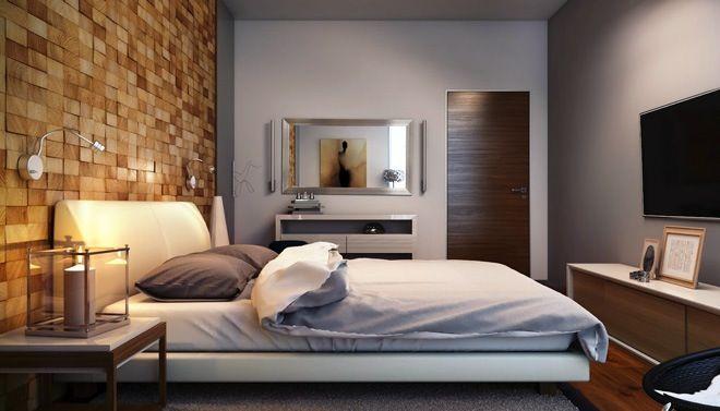 wand uit houten blokjes slaapkamer wand ideeà n pinterest