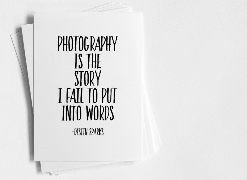 Free Download Project Life Pocket X Photography Quote Cards