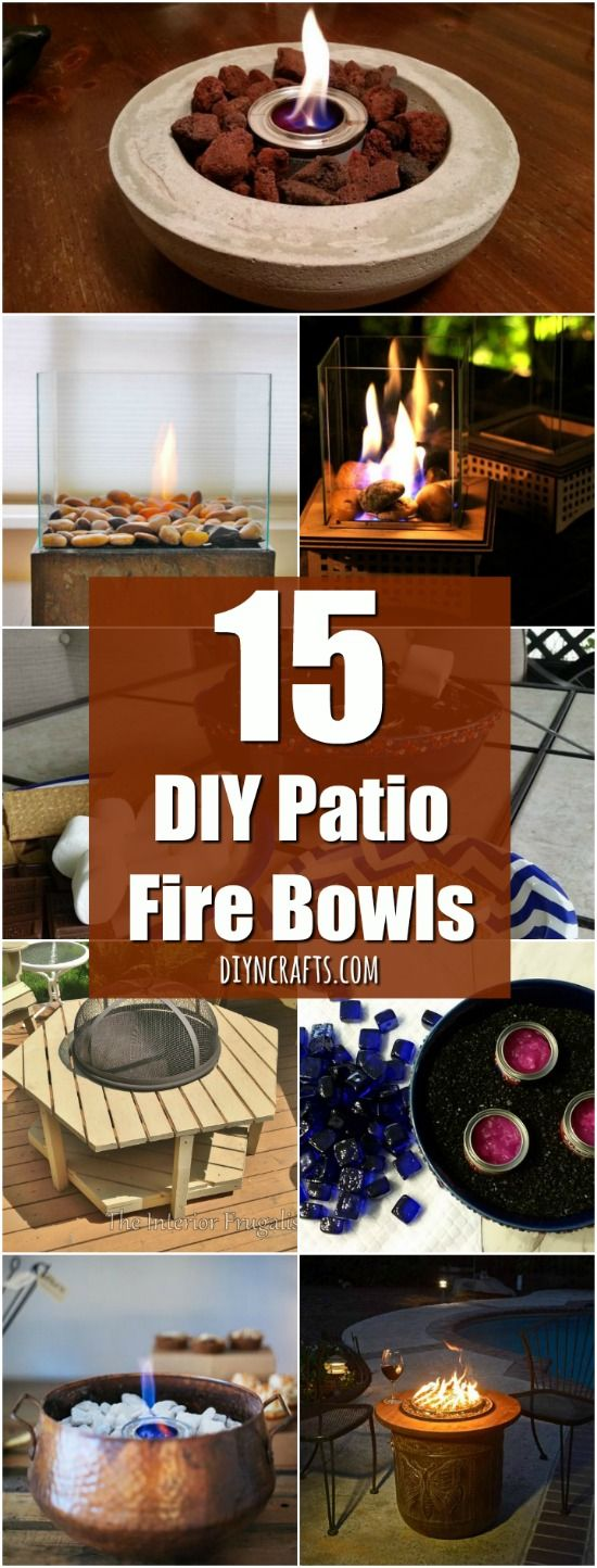 15 DIY Patio Fire Bowls That Will Make Your Summer Evenings Relaxing And Fun - DIY & Crafts