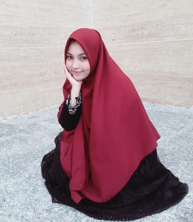 Selendang, Jilbab Cantik, Gambar