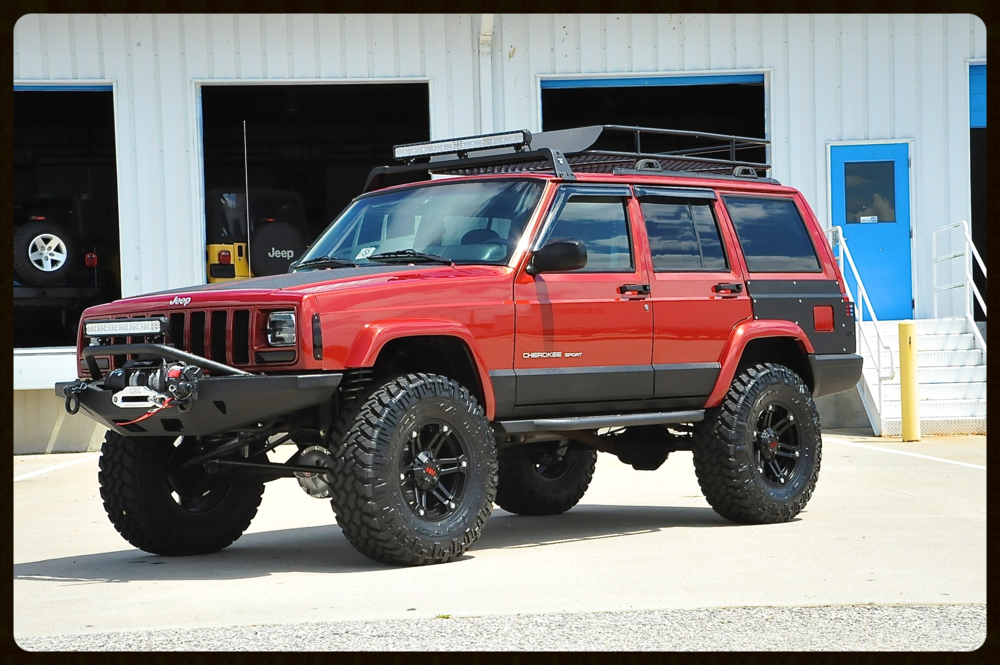 One Of Our Favorite Chili Pepper Red Xj Builds Stage 4 With