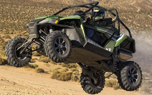 DUST STORM WARNING Arctic Cat's all-new Wildcat 1000i H.O. 2012