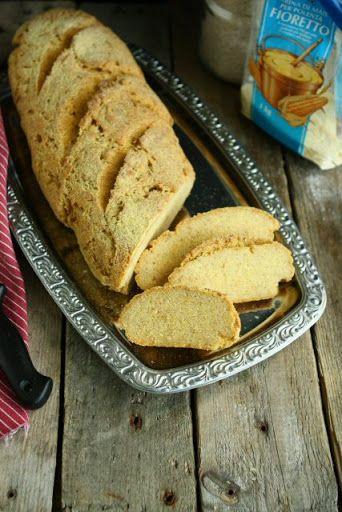 Gluten Free Polenta Bread With Psyllium Husks And Yoghurt Recipes Gluten Free Bakery Food