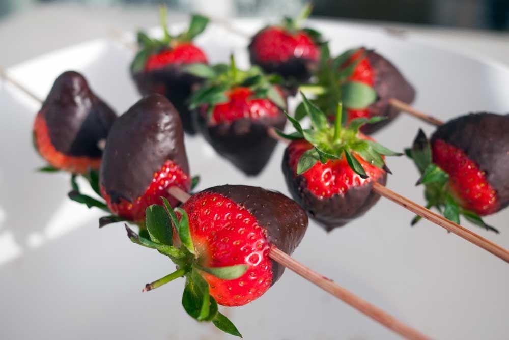 jordbær & sjokolade | en klype salt