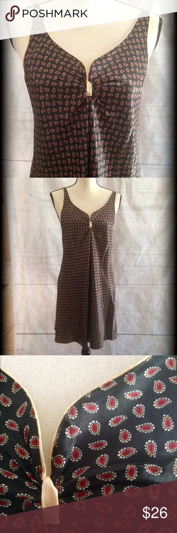 """Sexy nightgown 100% polyester. Looks and feels like satin. Straps adjust in back. From armpit to bottom is 23 ½"""" long. Jones New York Intimates & Sleepwear Chemises & Slips"""