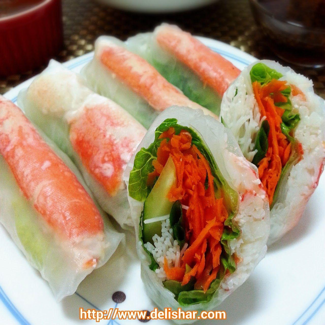 Peanut Dipping Sauce | Recipe | Rice paper rolls, Crab ...