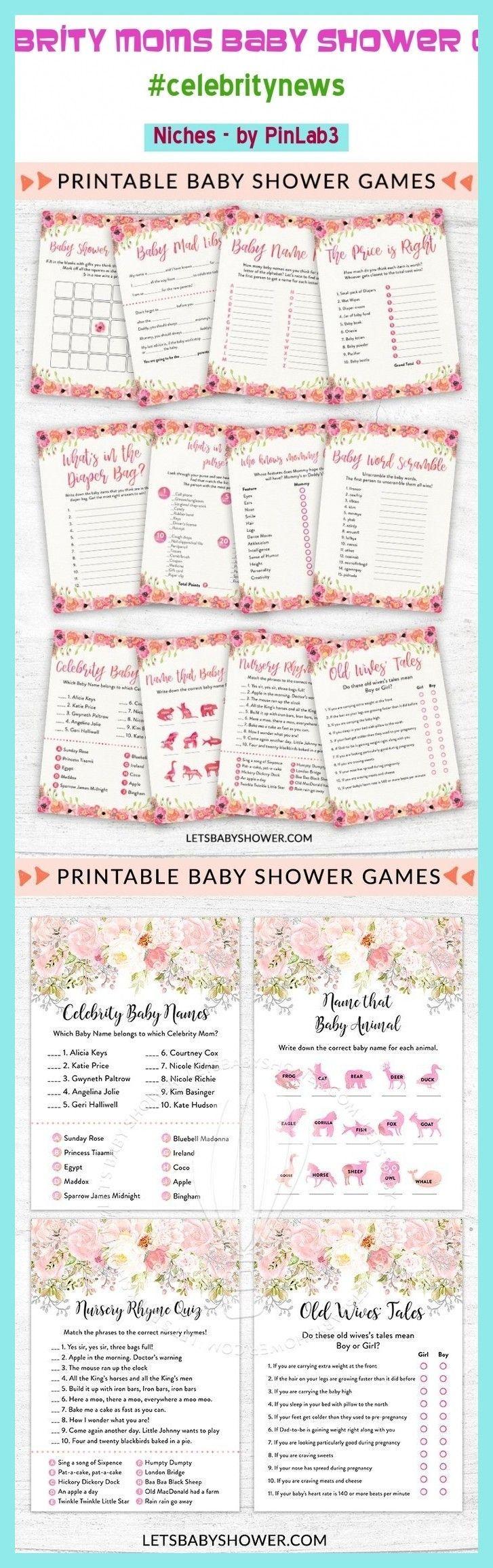 Photo of Celebrity moms baby shower game #celebrity #shower Promi Mütter Baby-Dusche-Spi…