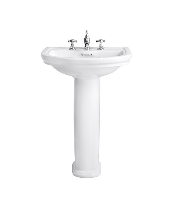 Awesome Pedestal Sink   St. George 24 Inch Pedestal Lavatory By DXV